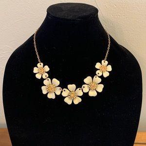 J.Crew floral necklace